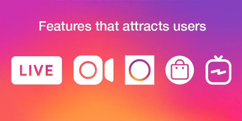 Instagram Features that attracts users